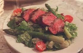 Ruth Chris Steakhouse Copycat Recipes: Tenderloin Steak Salad ... [  WARM PEPPERED STEAK SALAD ]