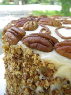Italian Cream Cake & Buttered Pecans from Austin Heritage Cook Book