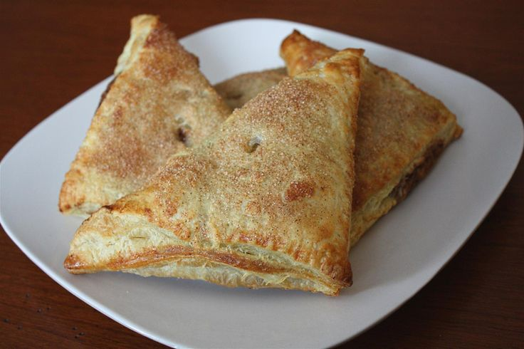 Nutella Peanut Butter Banana and Turnovers | Recipe