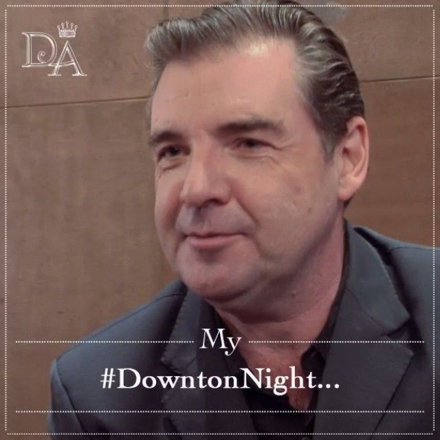 """""""Brendan Coyle, who plays Mr Bates, describes how he watches Downton"""
