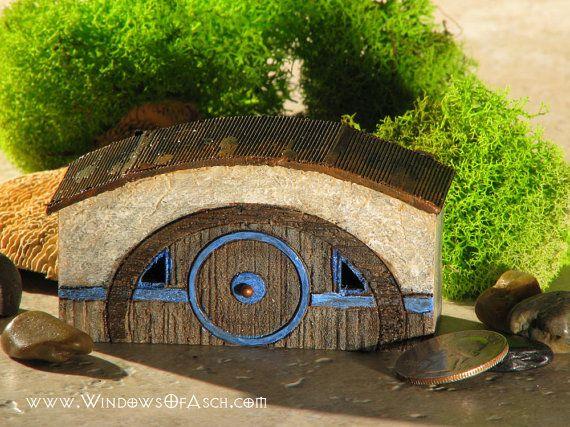 Miniature Hobbit Hole for Terrariums/Gardens by WindowsofAsch, $18.50