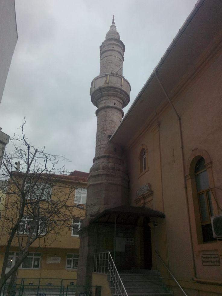 Great mosque minaret-Ulu Camii-Built year: 1721-Haydar Çavuş neighnorhood-Bandırma