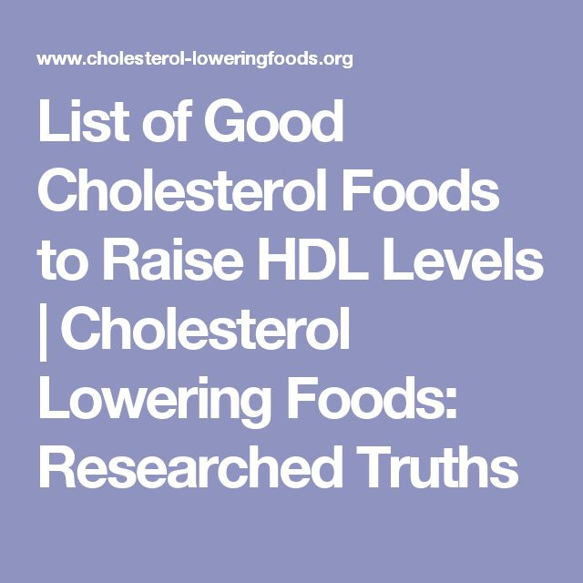 What lowers hdl