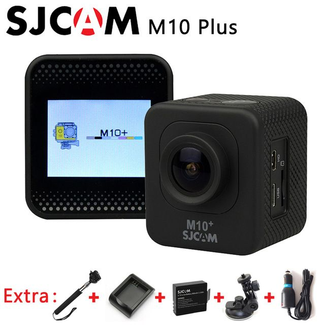 Original SJCAM M10+ M10 Plus 2K WiFi Sport Action Camera+Extra 1pcs battery+Battery Charger+Car Charger+Car Holder+Monopod US $103.99 To Buy Or See Another Product Click On This Link  http://goo.gl/EuGwiH
