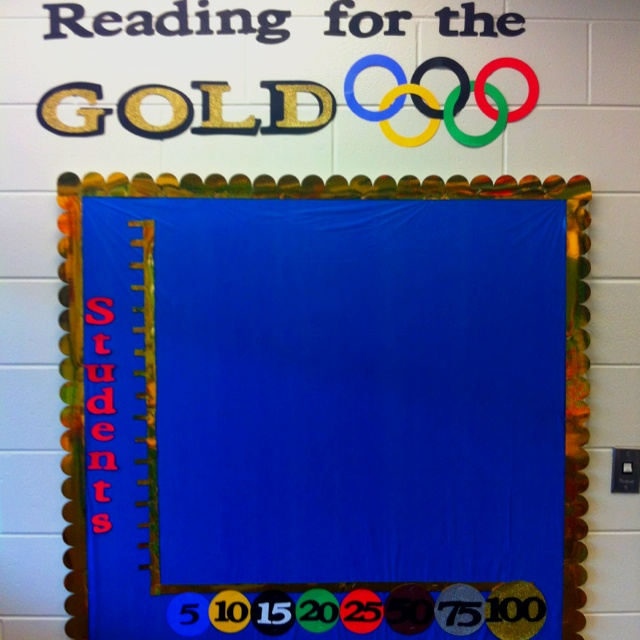 Accelerated Reader Board-Inspired by the Summer Olympics 2012
