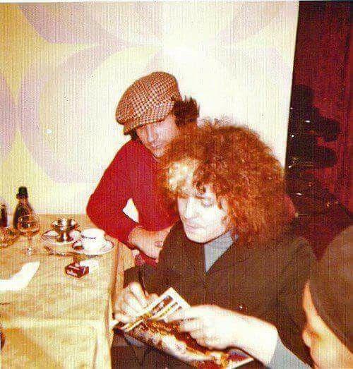 Marc Bolan circa 1975.