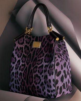 Dream bag ... purple AND Leopard.