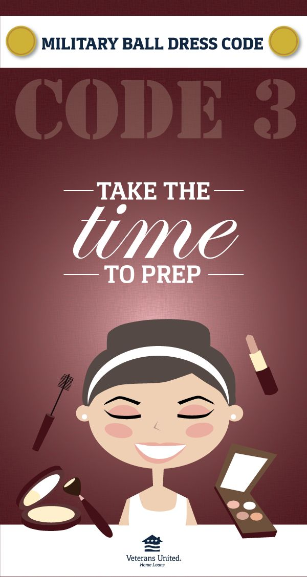 Time has a funny way of slipping through our fingers. Be sure to give yourself enough time to doll up a little bit!