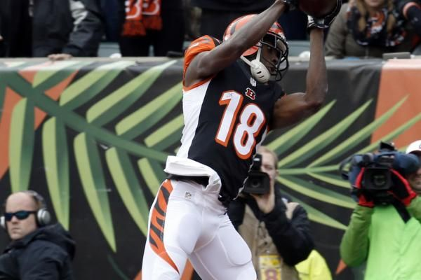 Cincinnati Bengals WR A.J. Green could be dealing with hamstring tear