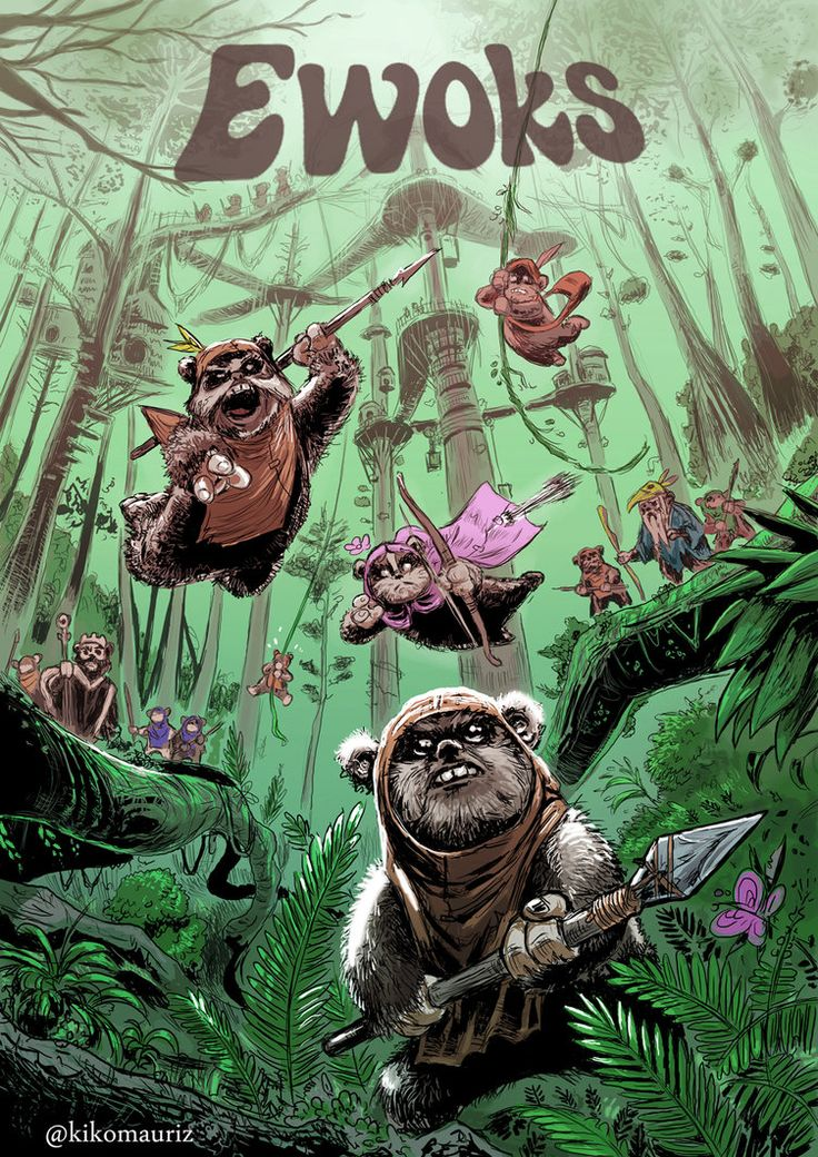 22 best star wars droids and ewoks images on pinterest - Ewok wallpaper ...