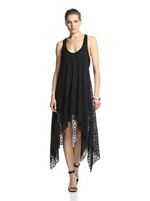 76% OFF Lola & Sophie Women's Lace Racerback Dress (Black)