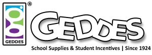 Welcome to GEDDES - We make writing fun with creative school supplies for school supply stores and education fundraisers.