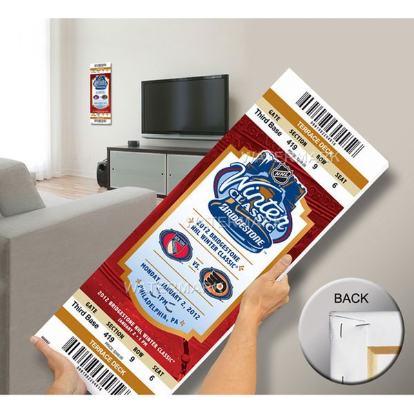 2012 NHL Winter Classic Mega Ticket - Rangers vs Flyers - $79.99