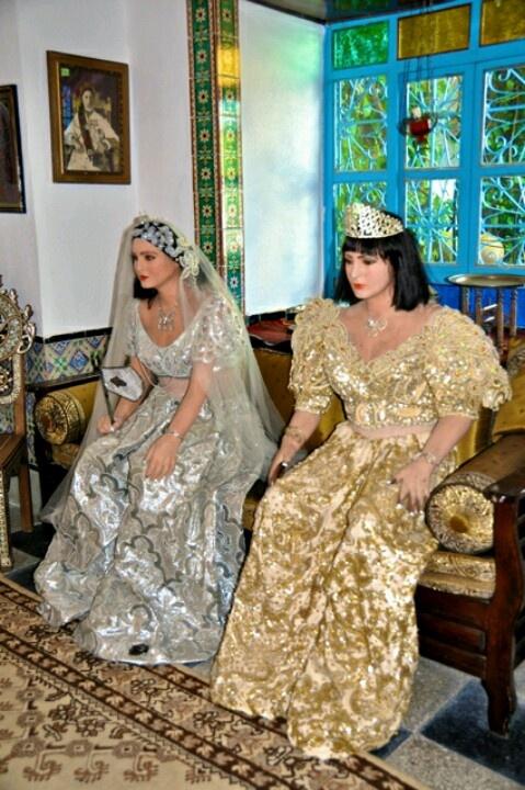 Modern tunisian wedding clothes
