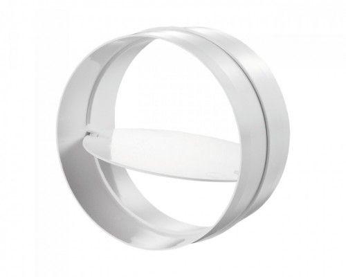 Conector tub circular cu clapeta antiretur Blauberg PlastiVent - Diametru 125mm