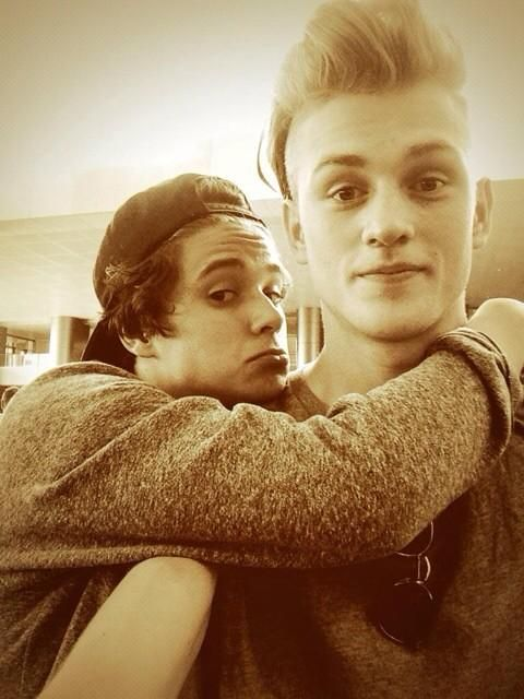 Brad and Tristan