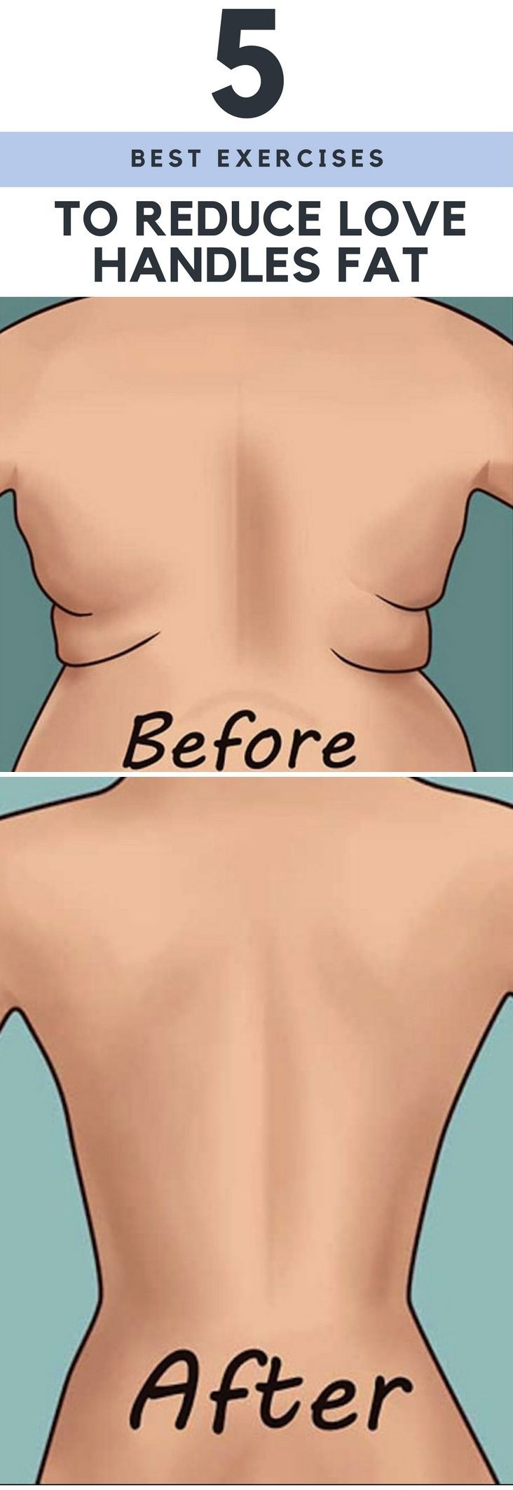 5 Best Exercises To Reduce Love Handles Fat #Health #Wellness #Fitness #Tips #Food #Motivation #Remedies #Natural #Mental #Holistic #Skin #Woman's #Facts #Care #Lifestyle #Detox #Beauty #Diet #Body #Nutricion #Skincare #NaturalTreatments #HealthyLifestyle