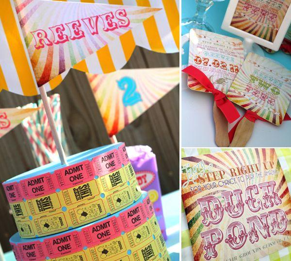 Carnival Birthday Party - ideas.