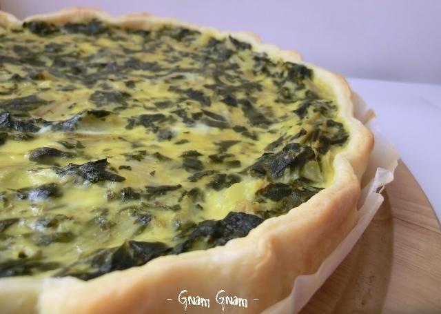 Torta salata con bietole e patate | Ricetta