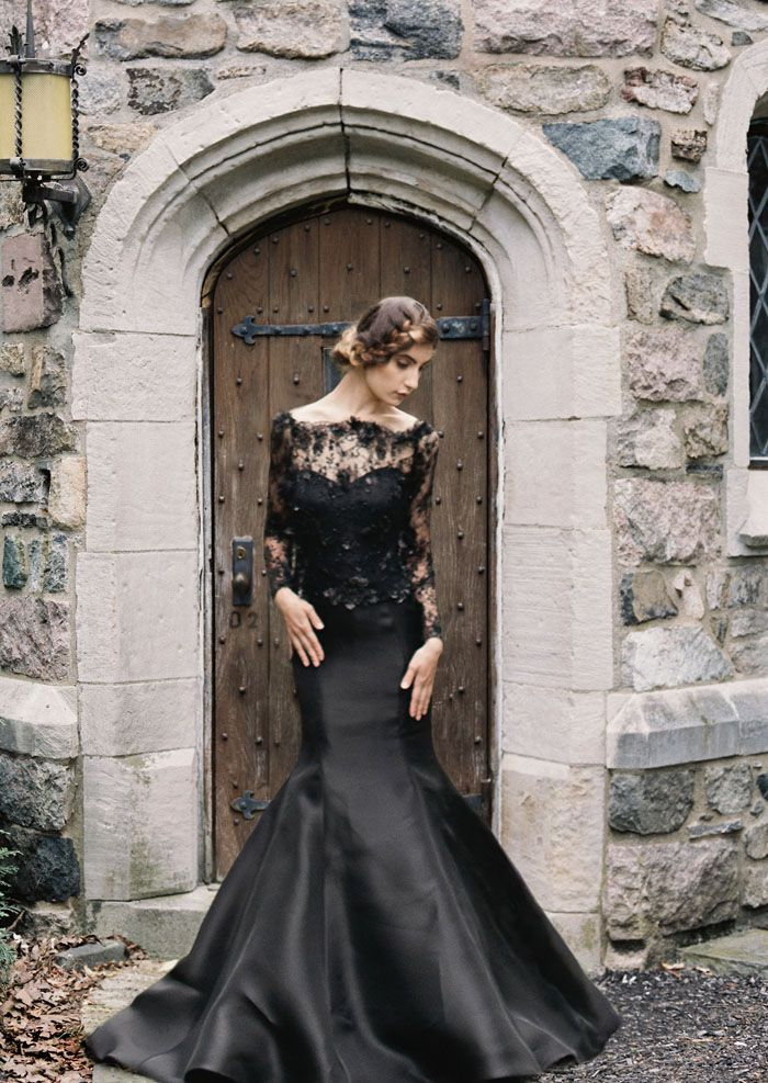 Black Wedding Dress Burlesque Fantasy See More Sareh Nouri Fall 2015 Collection