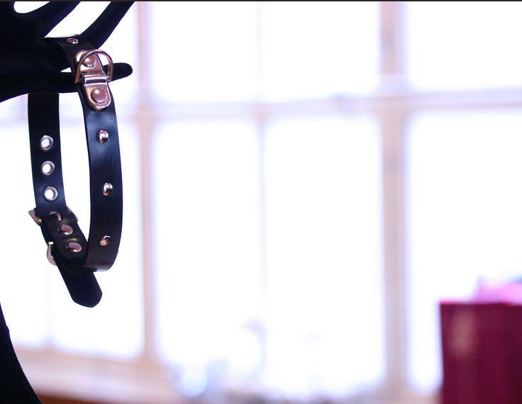 Display of Bondage Collars & Leads - handmade by Sh! & on #display at Sh! Women's Erotic Emporium #awardwinning #sexshop #London