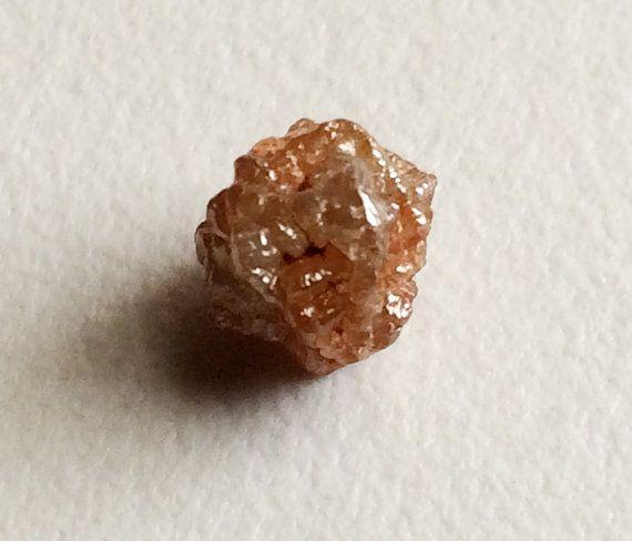 Orange Red Rough Diamond Orange Diamonds Loose by gemsforjewels