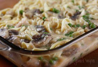 skinny tuna noodle casserole tuna noodle casserole recipe casserole ...