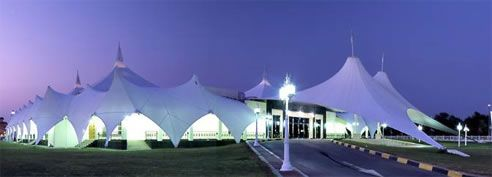 architectural fabric membrane construction