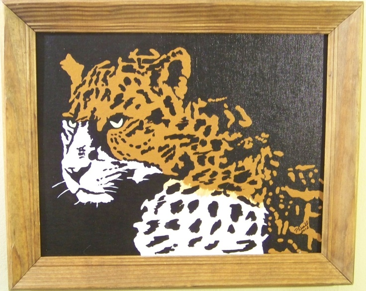 The #Leopard #art #thecraftstar $60.00