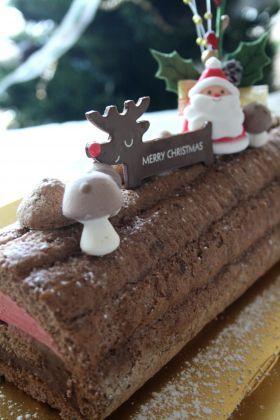 「ブッシュ・ド・ノエル オ・ショコラ」wacco | お菓子・パンのレシピや作り方【corecle*コレクル】