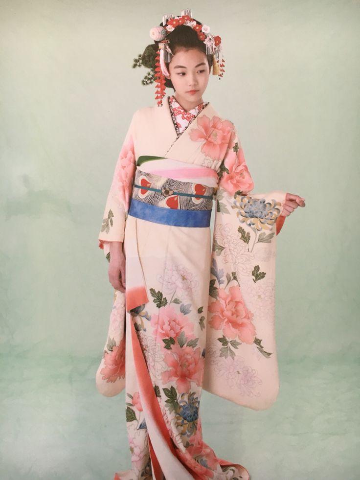 日本髪 振袖