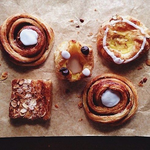 Nougat Crown, Kringle and Spandauer from Copenhagen Pastry | 28 Droolworthy Junk Food Treats To Eat In L.A.