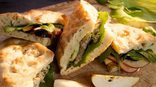 Focaccia s rozmarýnem + sendvičové náplně