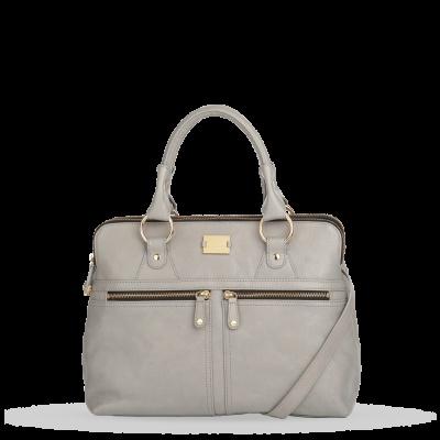 Statement Bag - White Rose statement bag by VIDA VIDA kVEVu