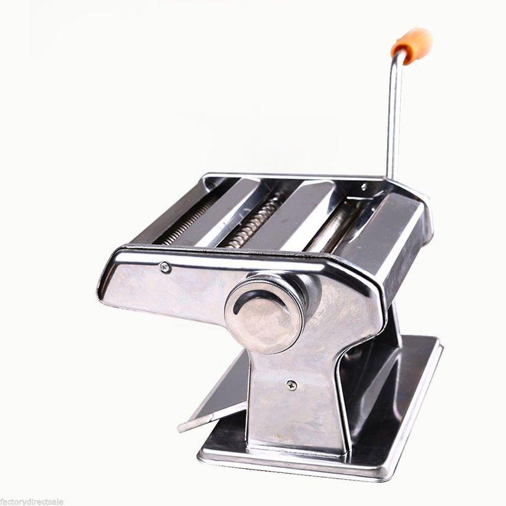 "150mm 6"" Pasta Making & Roller Machine Noodles Spaghetti&Fettuccine Maker Health - Kitchen & Dining - Home & Garden"