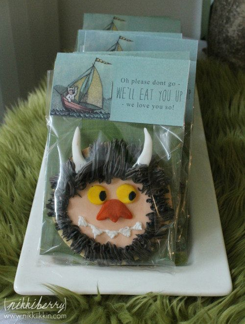 Where the Wild Things Are Treat Bag Toppers. $8.00, via Etsy.