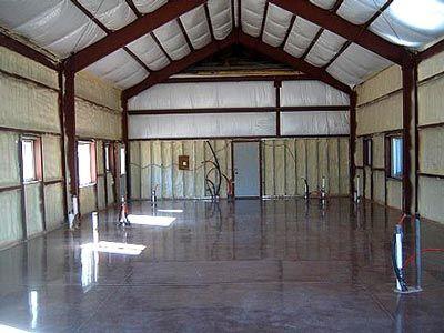 Polished Concrete Floor Loft