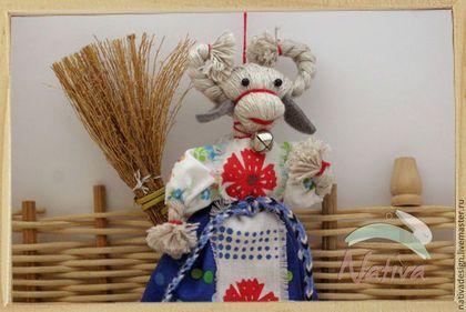 Народные куклы ручной работы. Ярмарка Мастеров - ручная работа Коза - народная кукла - оберег ручной работы. Handmade.