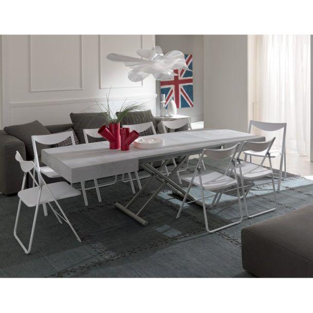 Tavolini Da Salotto Che Si Trasformano In Tavoli Da Pranzo.Tavolo Trasformabile Box Trattasi Di Un Tavolo Allungabile
