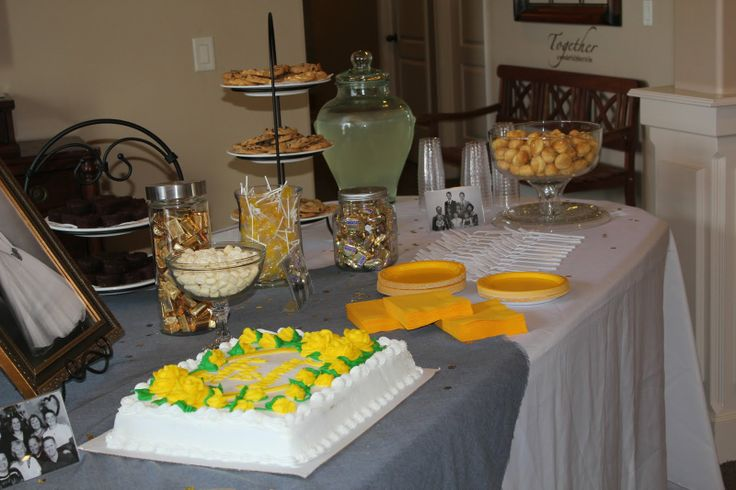 Th wedding anniversary party ideas there was a lot of