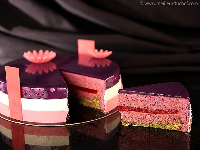 Blueberry Mousse Entremets - Meilleur du Chef