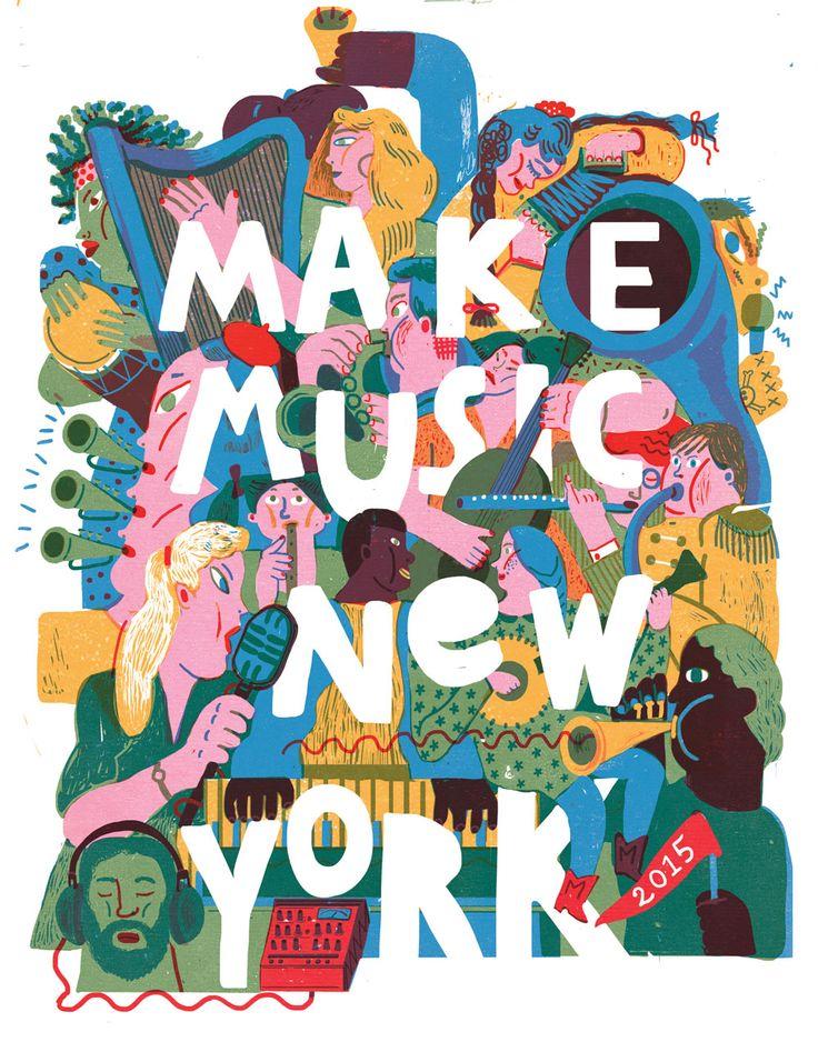 Make Music New York - Summer 2015 by Irene Rinaldi