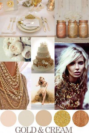 Paleta de cores nude ao dourado para madrinhas – Blog do Closet