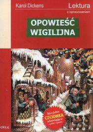 Opowieść wigilijna. Lektura z opracowaniem - jedynie 3,55zł w matras.pl