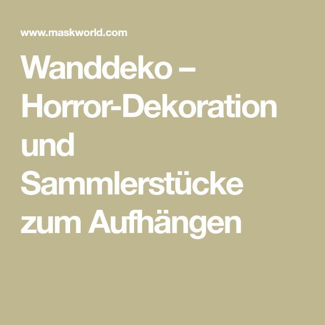 Wanddeko – Horror-Dekoration und Sammlerstücke zum Aufhängen
