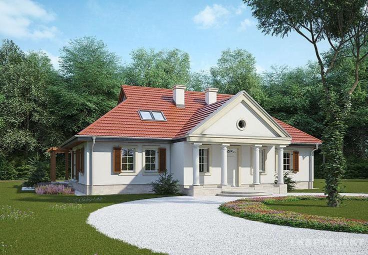 Projekt domu w stylu dworkowym LK&485. Projekt dworku. Mansion plan. Manor plan. #projekt #domu #dom #projektdomu #projektydomow #projektydomów #budowa #buduje #buduję #budujedom #budujędom #house #houseplan #plan #architecture #modernhouse #modern #project #houseproject #dworek #dwór #dworkowy #wstyludworkowym #manor #mansion