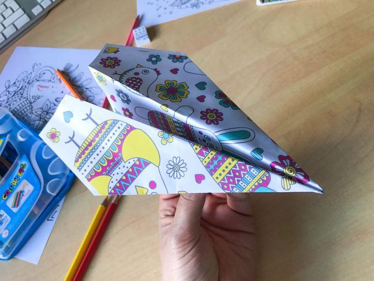 17 meilleures id es propos de avion en papier sur pinterest avion papier origami avion et - Tuto avion en papier ...