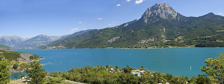 Camping Le Nautic on the shores of Lac de Serre-Ponçon