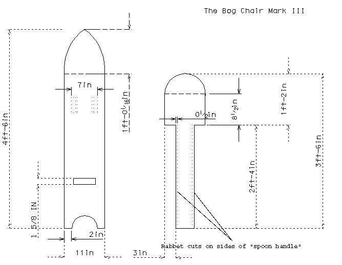 Wood Camp Chair Plans ~ Medieval woodworking measured drawing of the bog chair