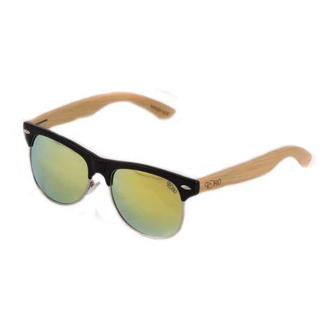 Ochelari de soare polarizati brate din bambus Pedro 1201M-3